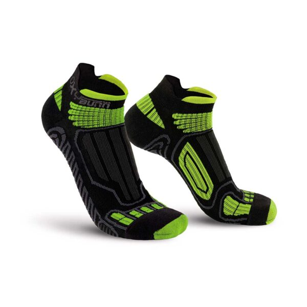 Running Low-Cut Dry-Tech Carbon Socks Oxyburn 1250