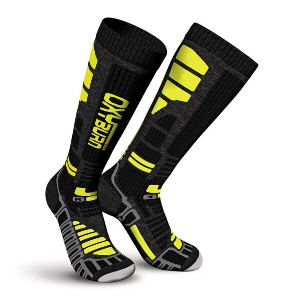 Ski Thermo Knee-High Energizer Dry-Tech Socks Oxyburn 1435