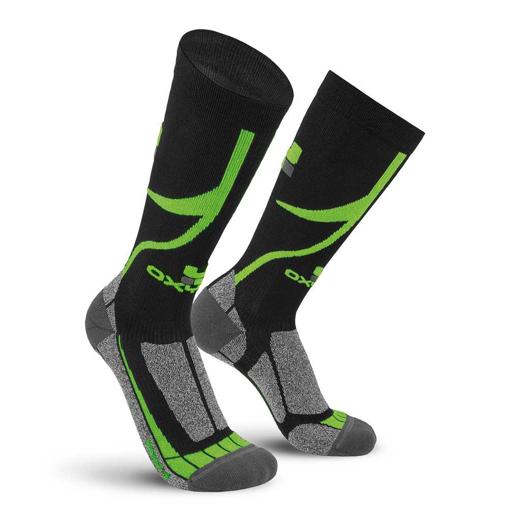 Bike Btm Knee-High Performance Dry-Tech Socks Oxyburn 1455