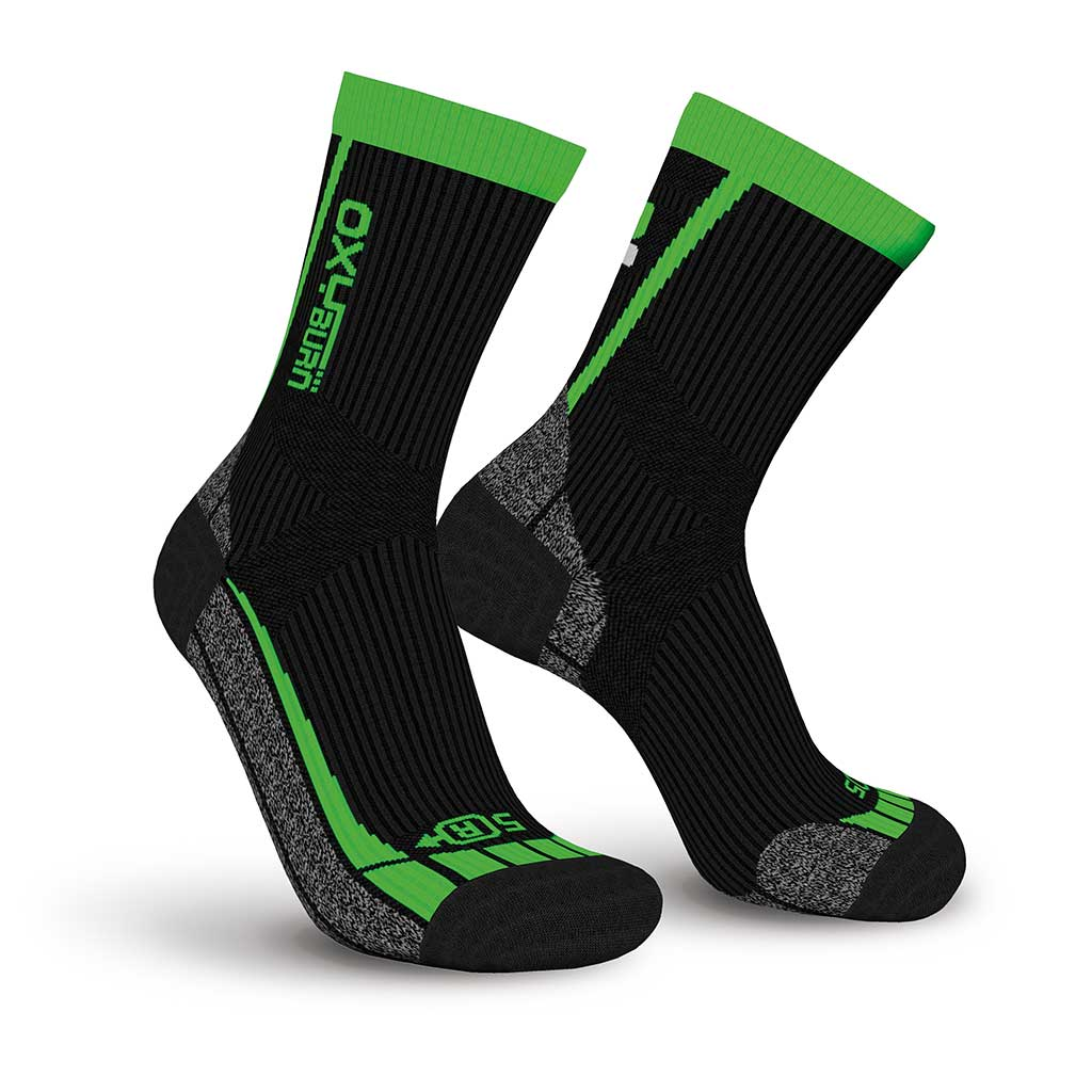 Trail-Run Half-Cut Performance Dry-Tech Socks Oxyburn 1465