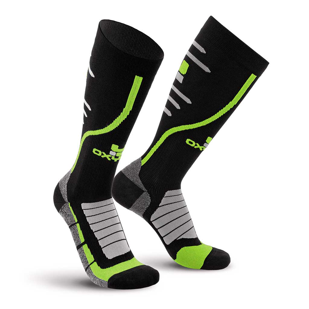 Bike Race Knee-High Performance Compression Socks Oxyburn 1470