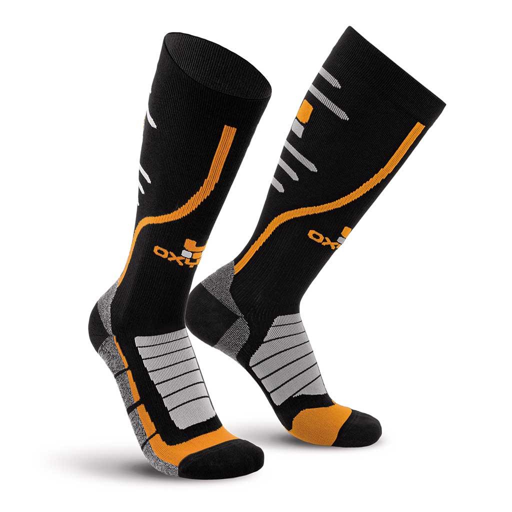Bike Race Knee-High Performance Compression Socks Oxyburn 1470