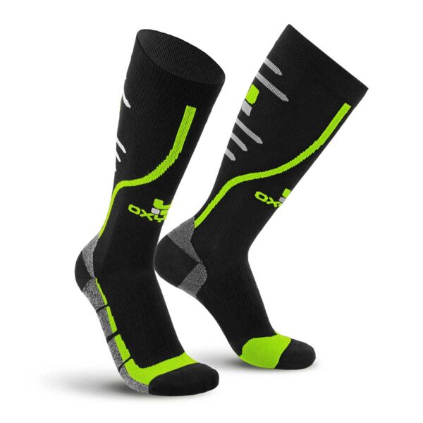 Running Track Knee-High Performance Compression Socks Oxyburn 1480