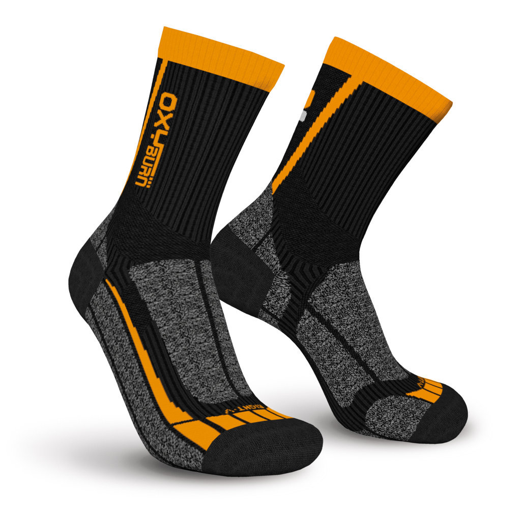 Bike Btm Half-Cut Performance Dry-Tech Socks Oxyburn 1485