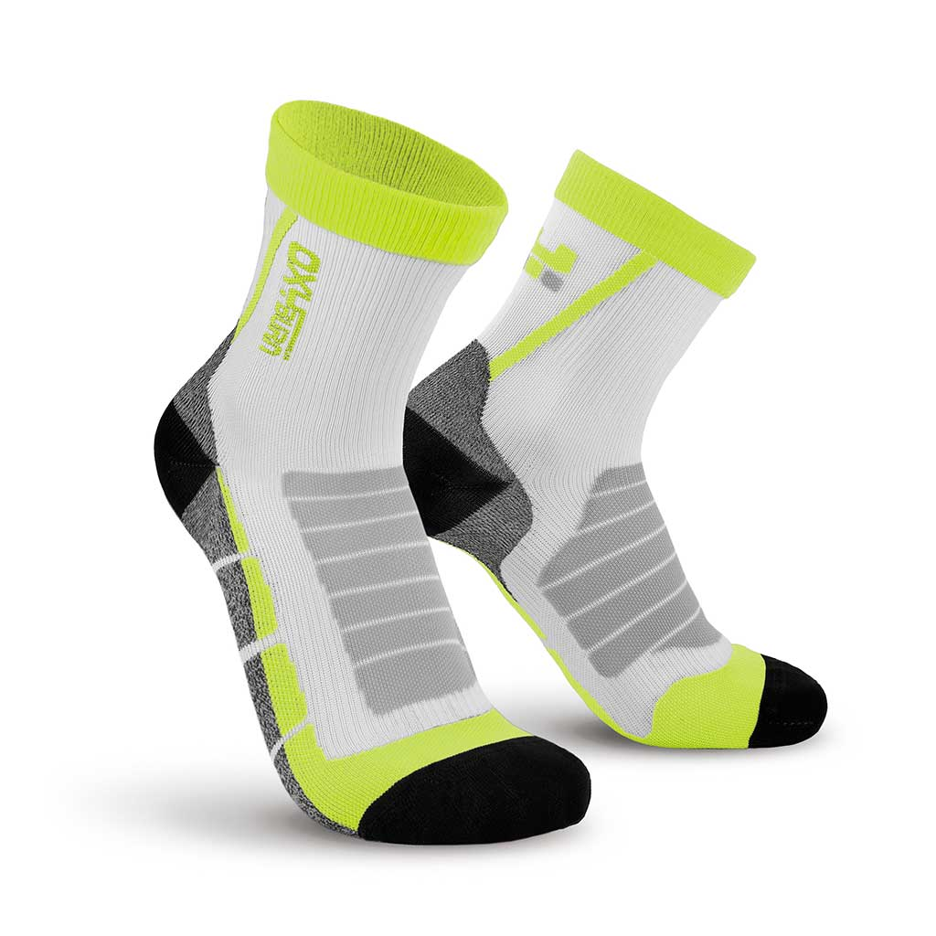 Bike Race Half-Cut Performance Compression Socks Oxyburn 1490