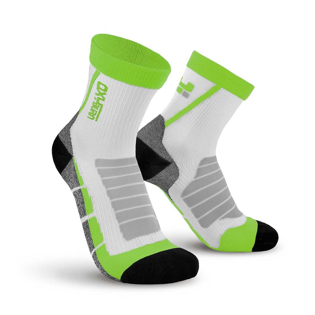 Bike Race Half-Cut Performance Compression Socks Oxyburn 1490