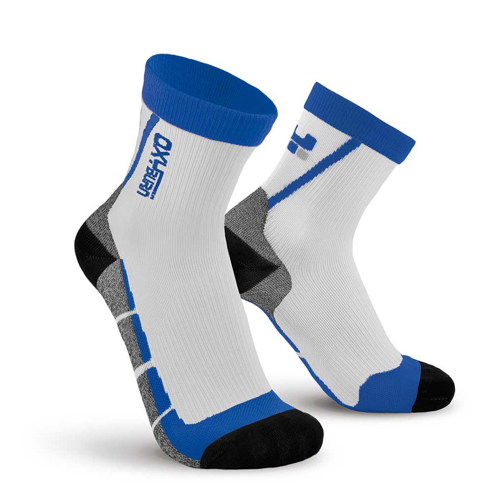 Running Track Half-Cut Performance Compression Socks Oxyburn 1495