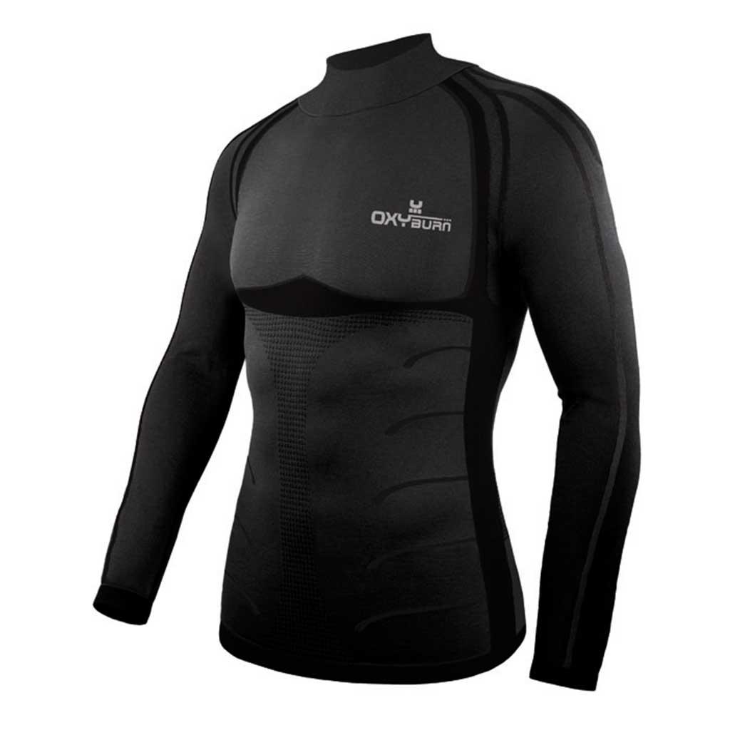Vertical Longsleeve Perfect-Fit Toning Sports Shirt Oxyburn 5065